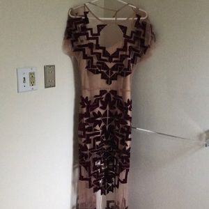 NWT For love and lemons maxi dress